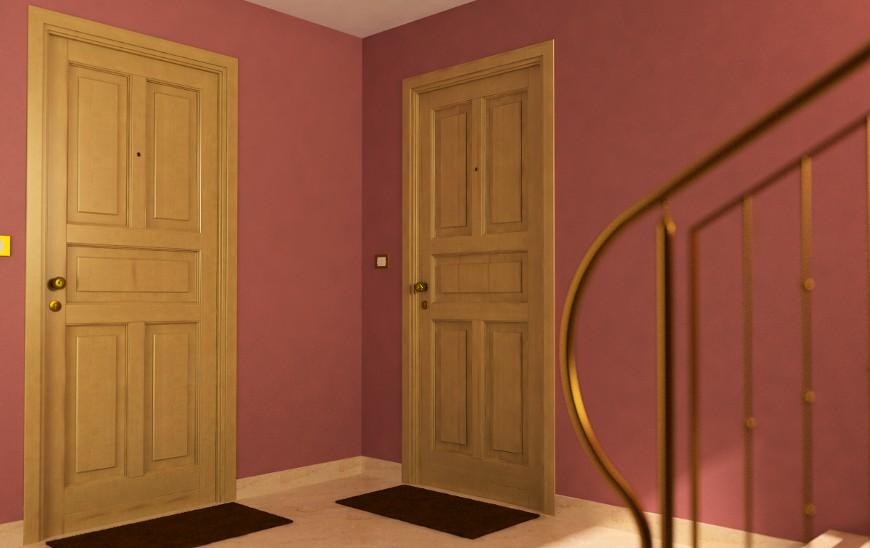 Bracco srl - Porte interne in legno lamellare listellare - vendita e ...