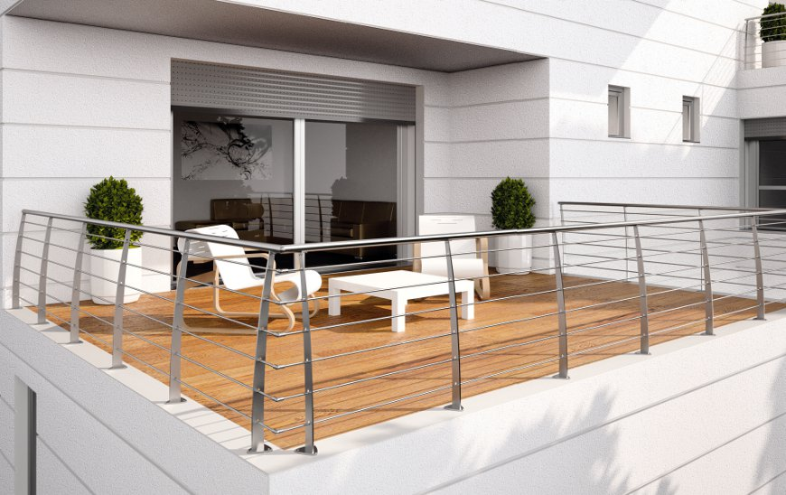 Awesome Ringhiere Terrazzi Ideas - Design and Ideas - novosibirsk.us