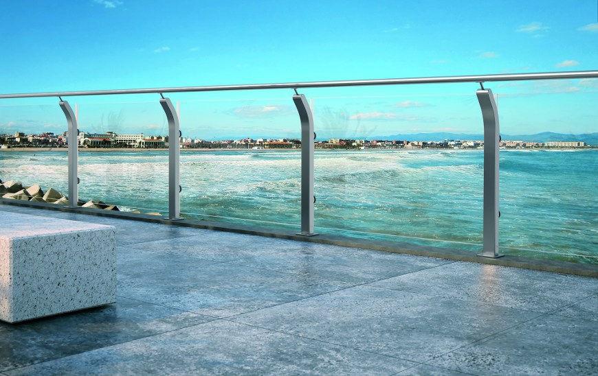Ringhiere balconi esterni design casa creativa e mobili - Ringhiere scale esterne ...